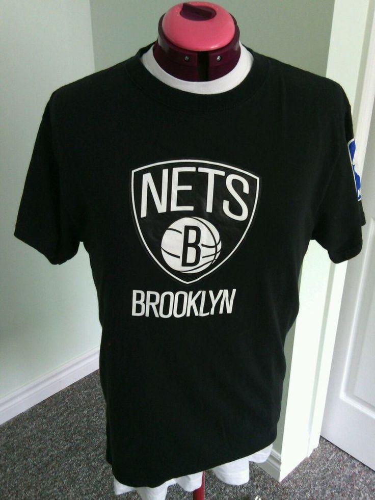 NBA Store Exclusive Men's Black Brooklyn Nets Tee Shirts Size M No 4 Carter Top  | eBay