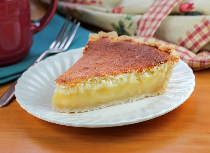 Bake a taste of Pennsylvania Dutch Lemon Sponge Pie. While baking, the pie separates into two layers, a soft topping while underneath a creamy lemon filling