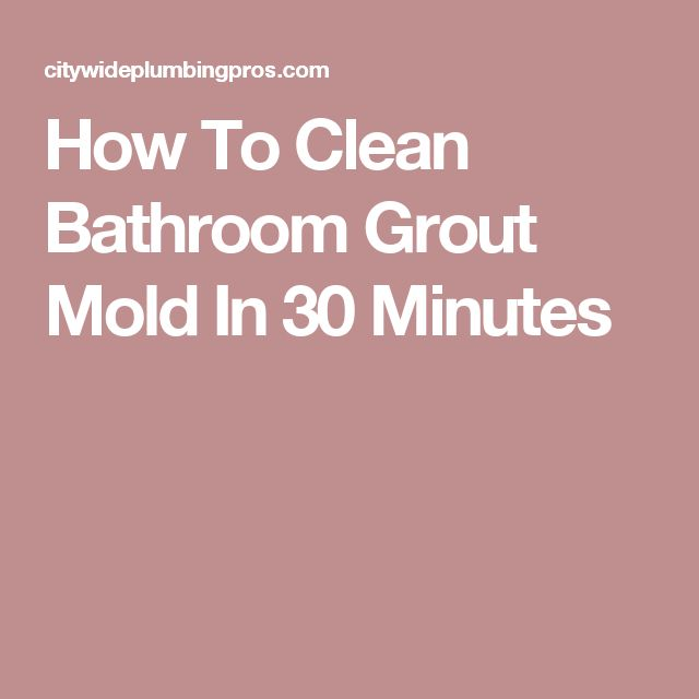 Best 25 cleaning bathroom grout ideas on pinterest for How do you clean white grout
