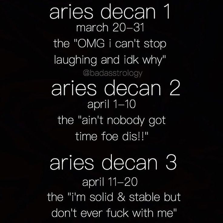 Which Decan Of Your Zodiac Sign Are You? | Lipstick Alley