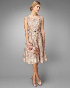 Antoinette Fit And Flare Dress (model)