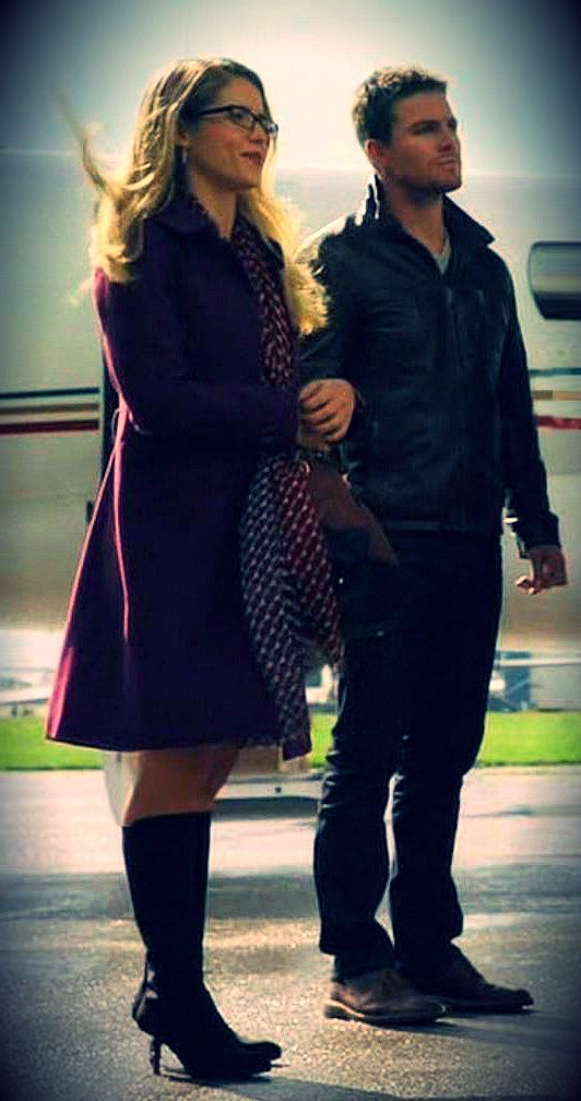 Arrow - Oliver & Felicity
