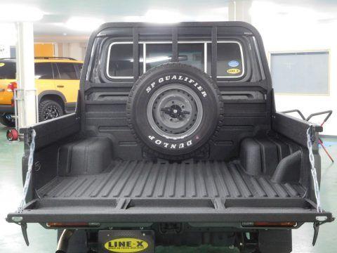 ランクル70再版モデルGRJ79Kピックアップトラック 荷台保護カバーとして塗装式ベッドライナー【LINE-X】施工! TOYOTA LANDCRUISER70