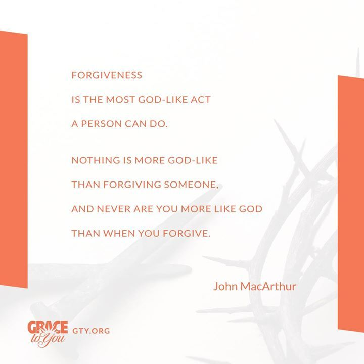 Are you willing to extend the gift of forgiveness to others?!