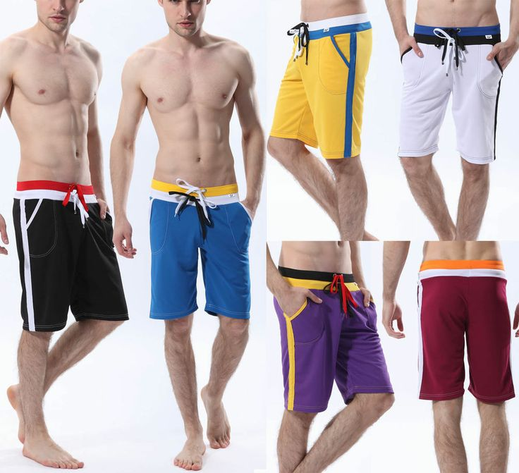 Details about Men's Casual Shorts GYM Workout Sports ...