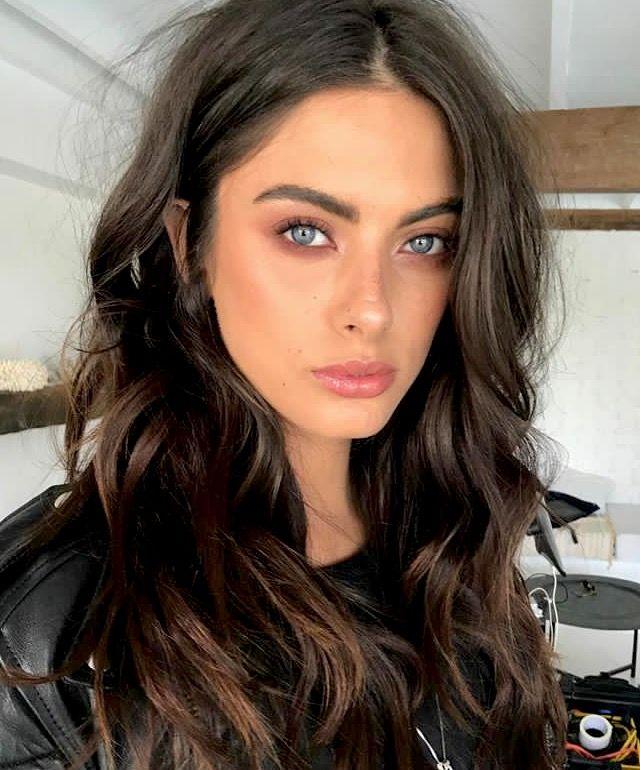brunette blue eyes ideas