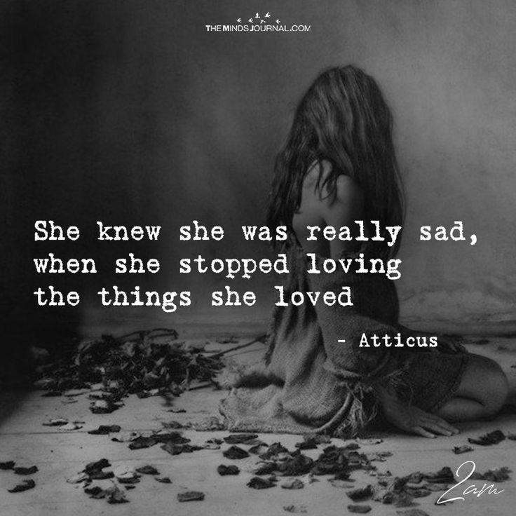 She Knew She Was Really Sad - https://themindsjournal.com/knew-really-sad/