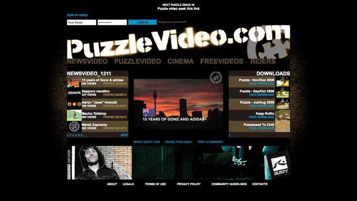 PuzzleVideo : free European skateboarding videos! www.puzzlevideo.com #skateboard