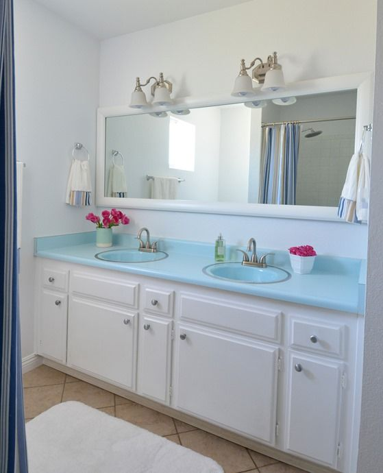 Bathroom Makeovers With White Cabinets 33 best home décor - bathrooms images on pinterest | bathroom
