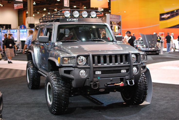 Hummer H3 Accessories Hummer H3 Moab Edition From Sema