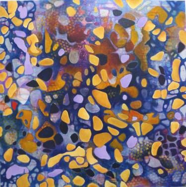 """Saatchi Art Artist Francoise Issaly; Painting, """"The Origin of Forms I"""" #art"""