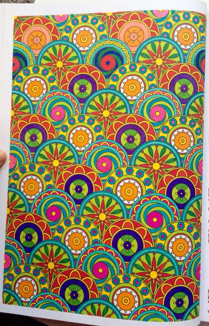 100 nouveaux coloriages anti stress art th rapie hachette coloriage pinterest anti - Coloriage art therapie ...