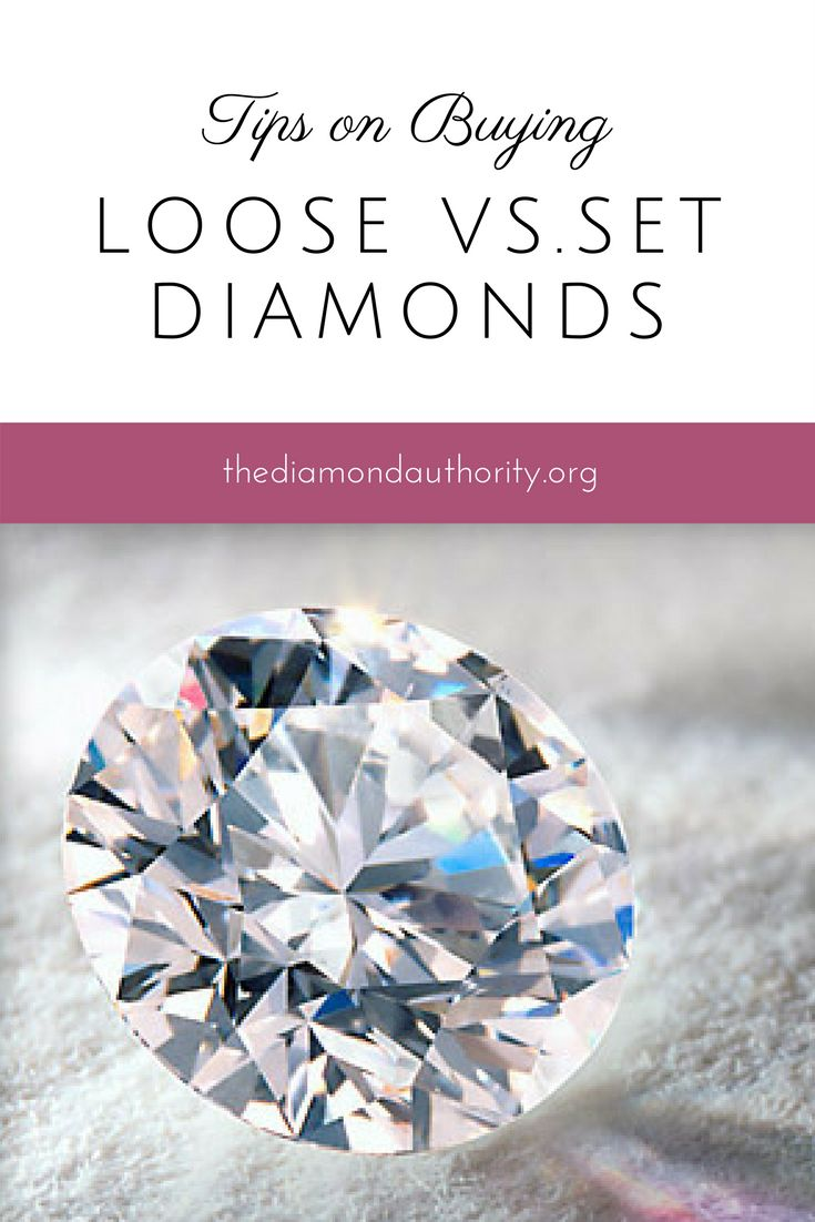 Have you thought about buying a loose diamond instead of one that's already set? Here is everything you need to know.