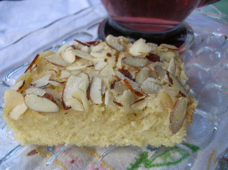 swedish almond bars- these are my favorite thing at my family christmas party each year!