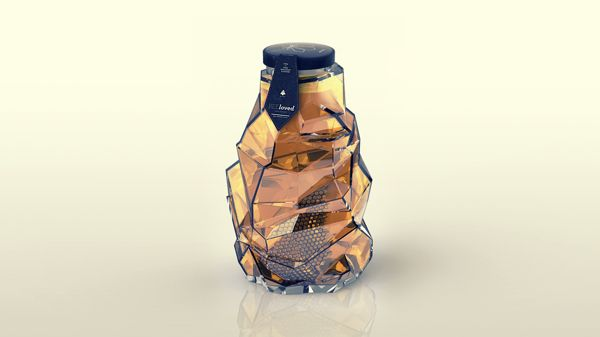 Packaging of the World: Creative Package Design Archive and Gallery: BEEloved honey