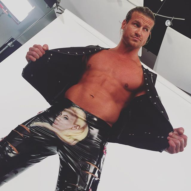 Dolph Ziggler with his new gear