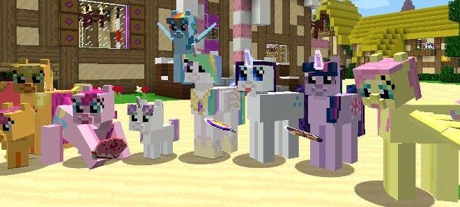 Mine Little Pony   Mod   Minecraft Building Inc