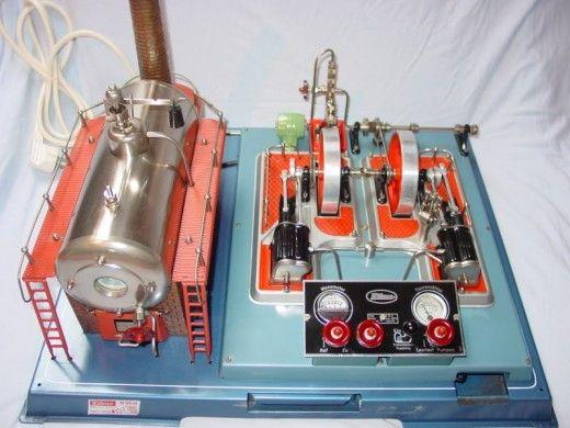 Spielzeug/Modell Dampfmaschine