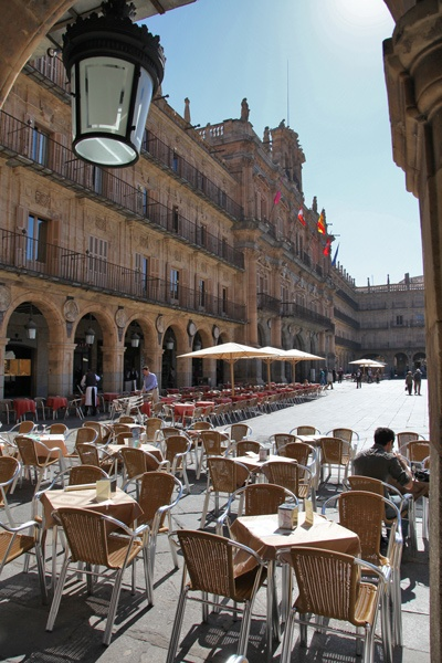 Salamanca, Spain  -the most charming city I've ever set foot on.