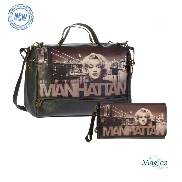 Womans Fashion Tuscany bag + purse MANHATTAN * New | Authentic | Licensed* #Karactermania #Tuscanybag