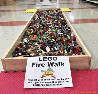 Funny Jokes, Pictures & Videos: Lego Fire Walk... would you?