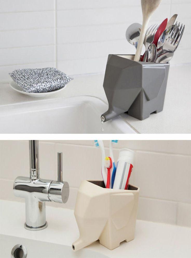 Ces porte-couverts, dentifrice ou brosses à dents