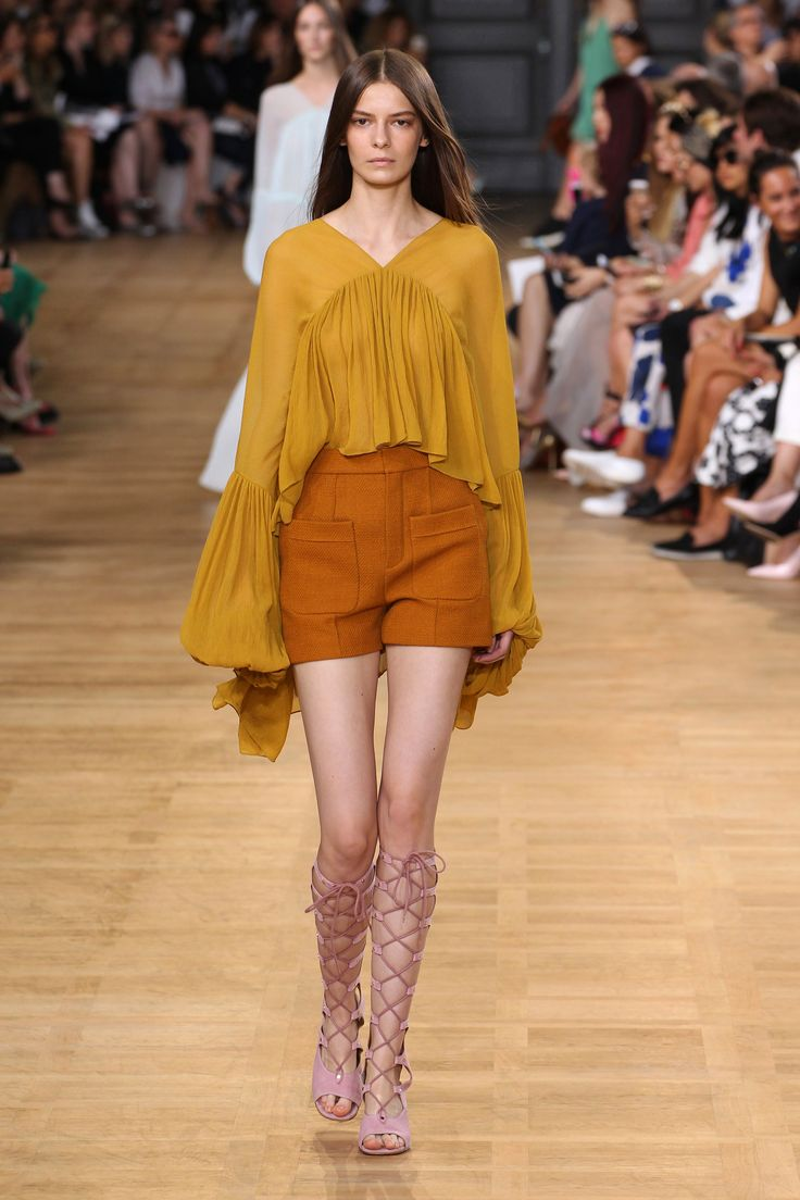 Leather Shorts Spring/summer Chloé 9rotohH