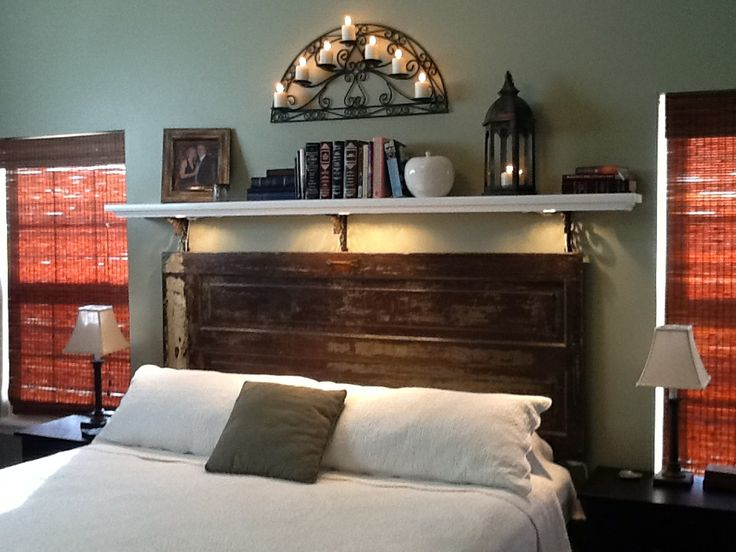 Farm door headboard ideas bedroom pinterest the old for Farm door ideas