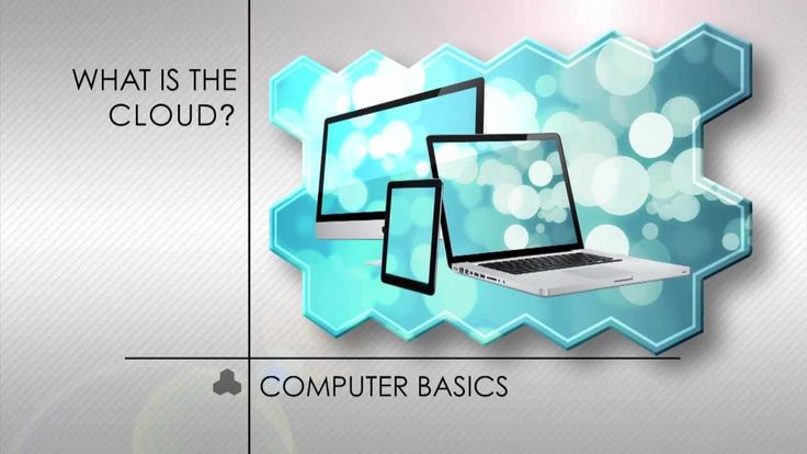 Computer Basics: What is the Cloud? Very Simple Explanation of the Cloud. YouTube Video