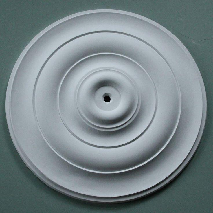 PLASTER CEILING ROSE 680mm. Sometimes a ceiling rose should be plain and simple. #plasterceilingrose