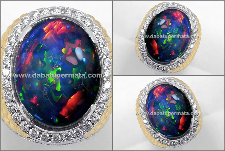 TOP Quality BLACK OPAL Hot Fire Big Size (OP 067)