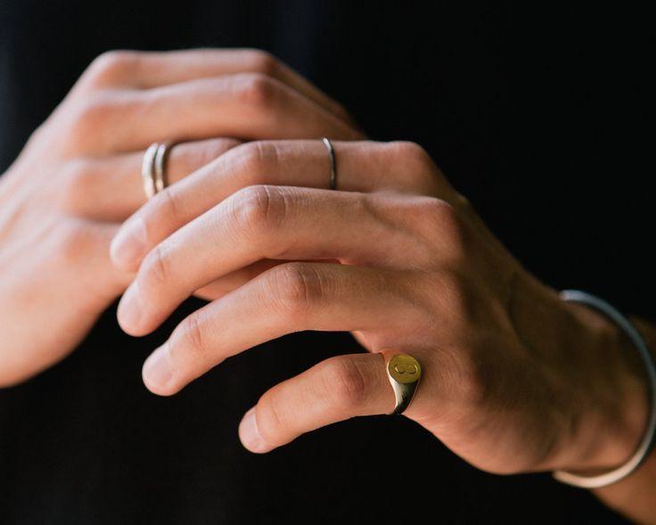 Signet Ring - Consider the Wldflwrs - 1