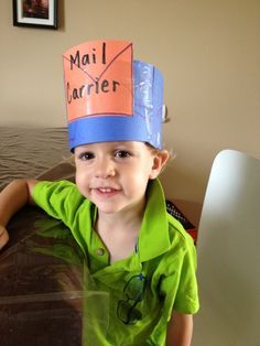 mail carrier preschool theme - Google Search