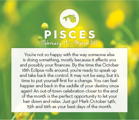 #Pisces October #horoscope 2013