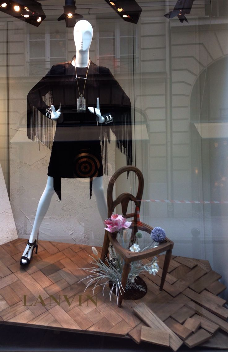 """LANVIN,Paris, France,""""I'm 23,I'm not ready to sit down in a chair with my name on it yet"""", pinned by Ton van der Veer"""