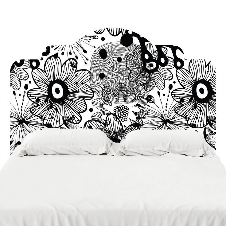 Black Lace Headboard Decal                                                                                                                                                                                 More