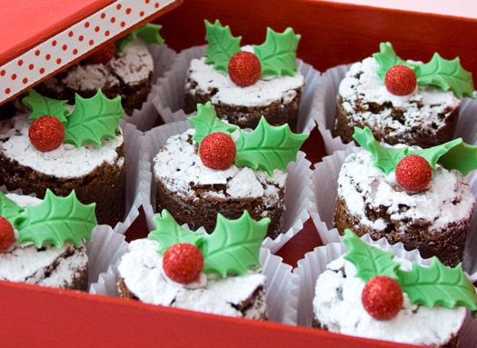 Brownies are a staple in my family. These are great for Christmas