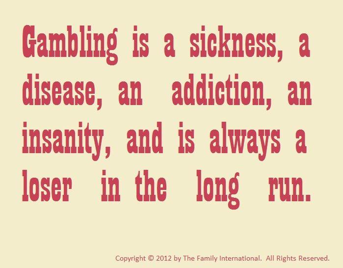 Gambling Sayings