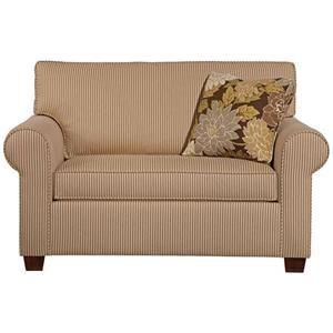 Brannon Transitional Twin Sleeper Chair by Kincaid Furniture - Becker Furniture World - Sofa Sleeper Twin Cities, Minneapolis, St. Paul, Minnesota