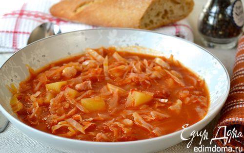 Ирландский суп с капустой и беконом (Irish Bacon and Cabbage Soup) | Кулинарные рецепты от «Едим дома!»