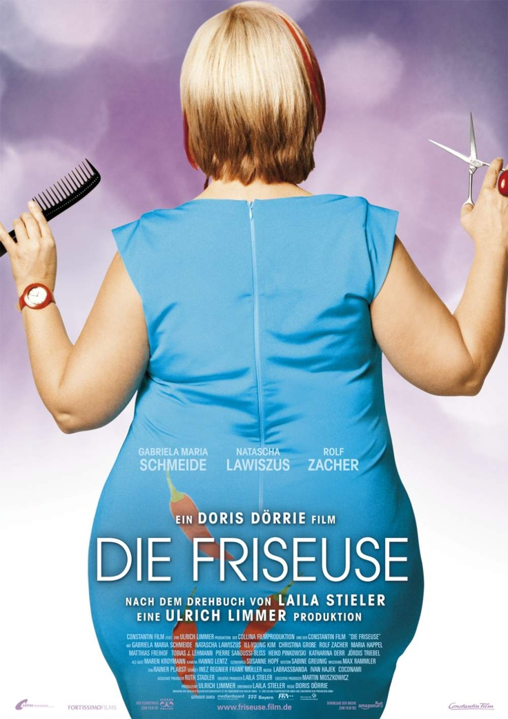 """Die Friseuse"" 2010- Directed by Doris Dörrie.The obese East-Berliner hairdresser (FRISEUSE) Kathi is unemployed and full of challenges. A divorced single mother, she tries to scrape a living for herself and daughter in modern Berlin."