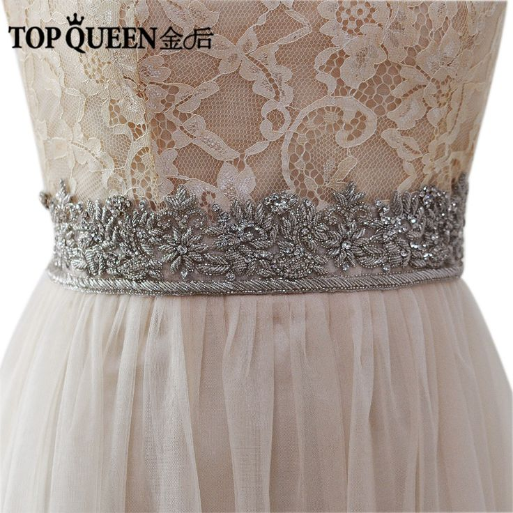 >> Click to Buy << TOPQUEEN AS15 India Silk  Bride Evening Party Gown Dresses Accessories Wedding Sashes Belt/Waistband Bridal Belts Sashes #Affiliate