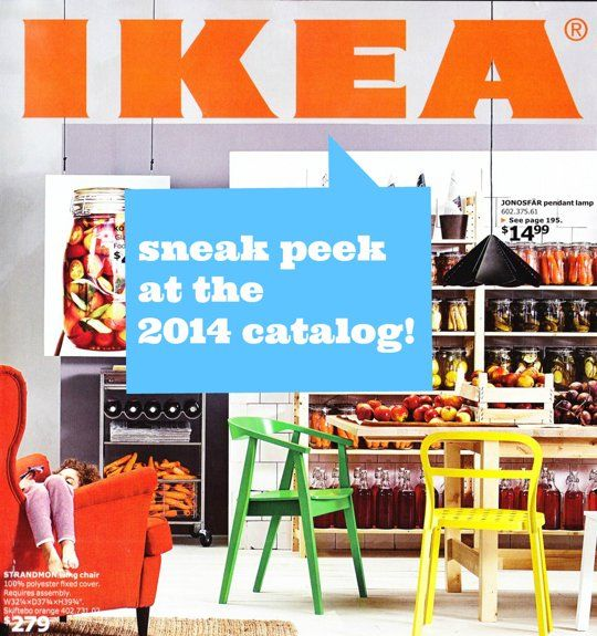 Styling Tricks from the 2014 IKEA Catalog Sneak Peek via Apartment Therapy