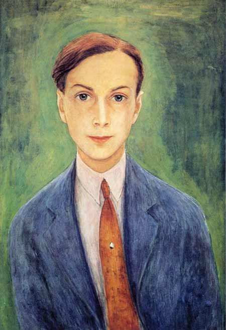 """Nils von Dardel, """"Self portrait"""", 1923"""