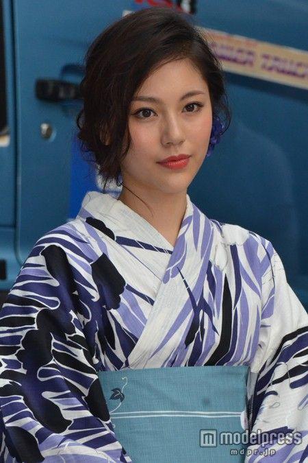 (画像9/9) モデル水沢エレナ、大人の色気アピール 艷やか浴衣で登場