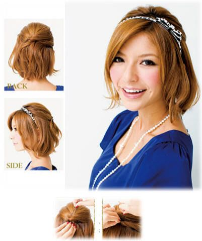 Hairstyles For Short Hair Upto Shoulders : Shoulder length hairstyles, Shoulder length and Short styles on ...