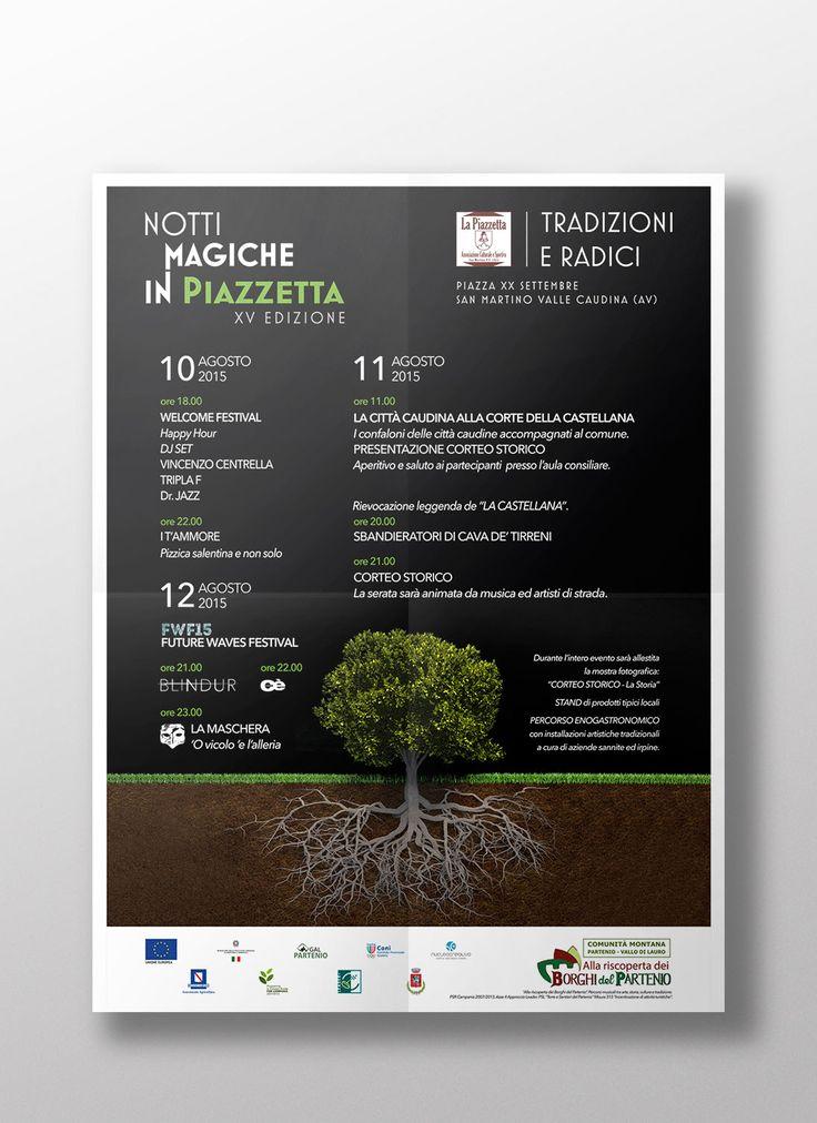 Notti Magiche in Piazzetta, locandina evento