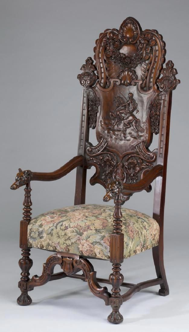 #victorianchair Old Furniture, Furniture Styles, Furniture Design, Antique  Wooden Chairs, Settee - Victorianchair White Wooden Rocking Chair In 2018 Pinterest