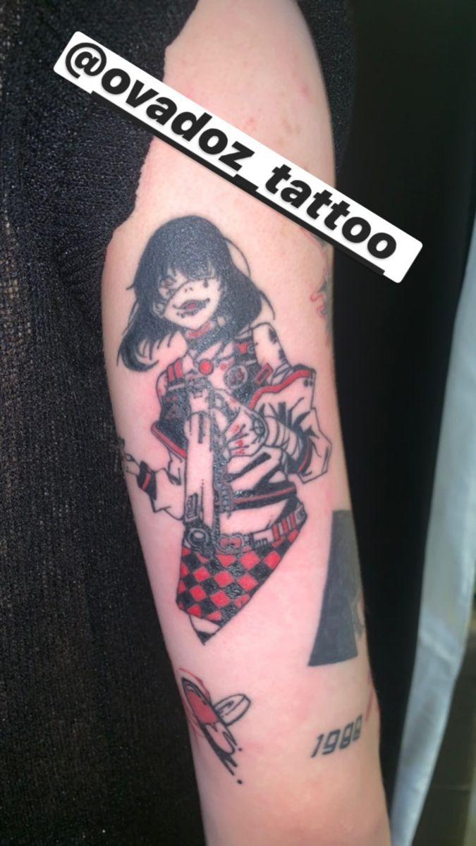 Kakegurui Midari Tattoo In 2020 Tattoos Anime Tattoos Dumbest Tattoos
