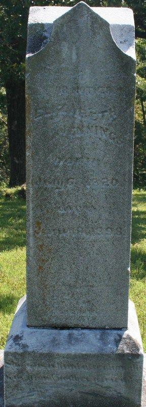 Elizabeth Jennings,  6X Great Grand Aunt